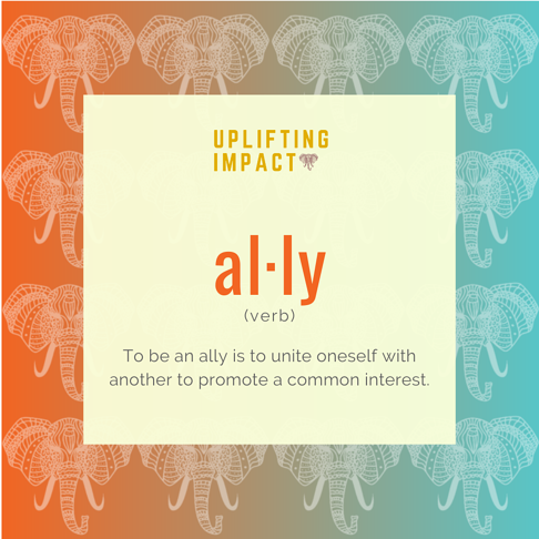 Ally Definition - Landing Page